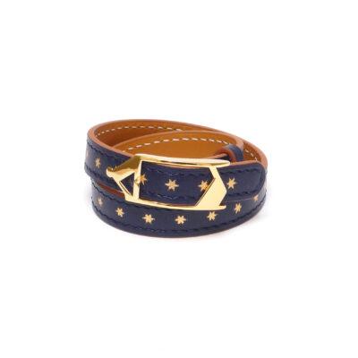 Bracelet Tilsitt Nuit d'Armaillé Marine
