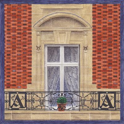 Carte postale Haussmann