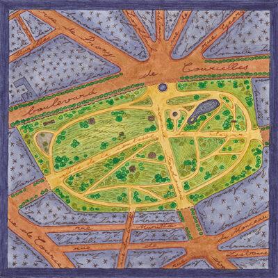 Carte postale Monceau