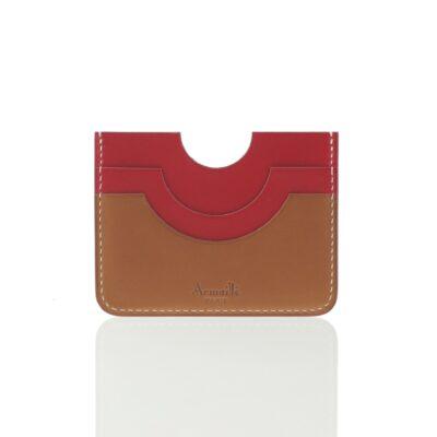 Porte-cartes Facade Rouge