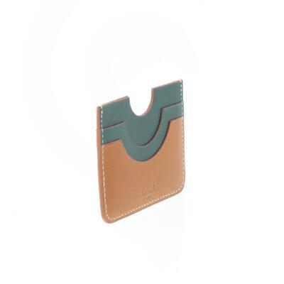 Porte-cartes Facade Vert