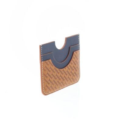 Porte-cartes Monogramme Bleu