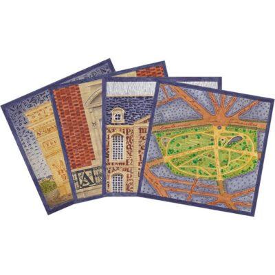 Lot de 4 cartes postales Armaillé
