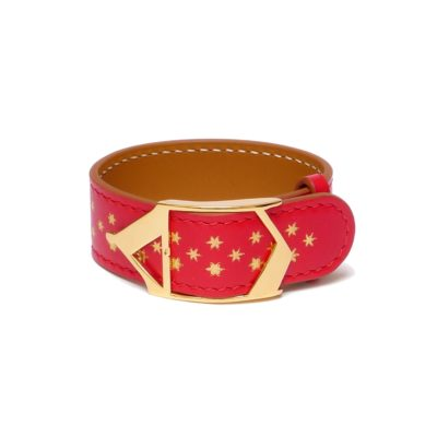 Bracelet Etoile Nuit d'Armaillé Rouge