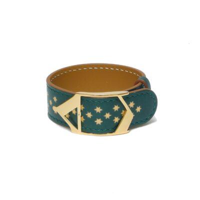 Bracelet Etoile Nuit d'Armaillé Vert