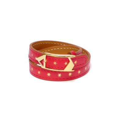 Bracelet Tilsitt Nuit d'Armaillé Rouge