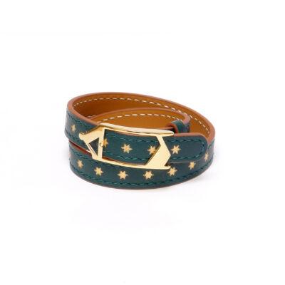 Bracelet Tilsitt Nuit d'Armaillé Vert