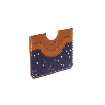 Porte-cartes Nuit d'Armaillé Bleu